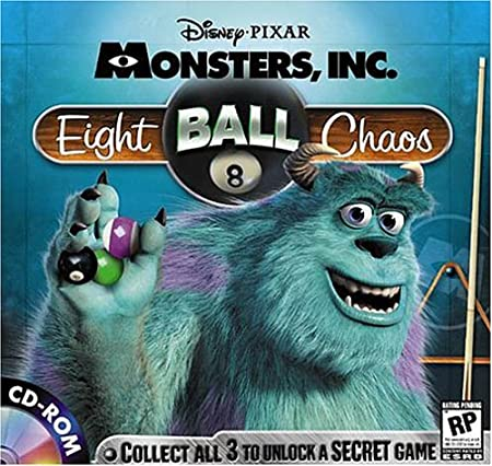 EIGHT BALL CHAOS (Jewel Case)
