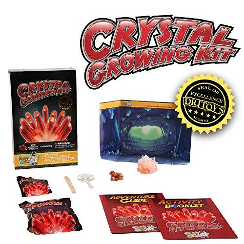 Crystal Growing Kit - Red Aragonite