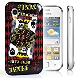 CASEiLIKE® - Poker Skull King - Snap-on hard case back cover for Samsung S5830 Galaxy Ace (GT-S5830 / S5830T / S5830i) -- with SCREEN PROTECTOR 1pcs.
