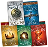 George R. R. Martin George R. R. Martin Song of Ice and Fire 5 Books Collection Pack Set RRP: £60.96 (A Dance With Dragons (HardCover), A Storm of Swords, A Feast for Crows, A Clash of Kings, A Game of Thrones)