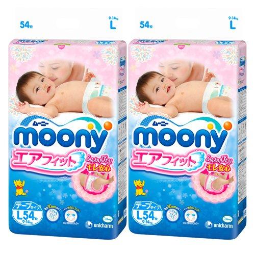 Mooney エアフィット l 108 cards (54 sheets x 2 packs) tape