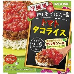 カゴメ 押し麦ごはんで 沖縄風トマトタコライス