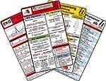 Rettungsdienst Karten-Set - EKG, Herz...