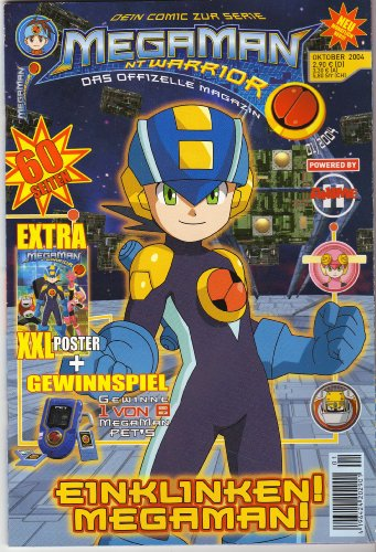 MegaMan NT Warrior Dein Comic zur Serie + XXL Poster