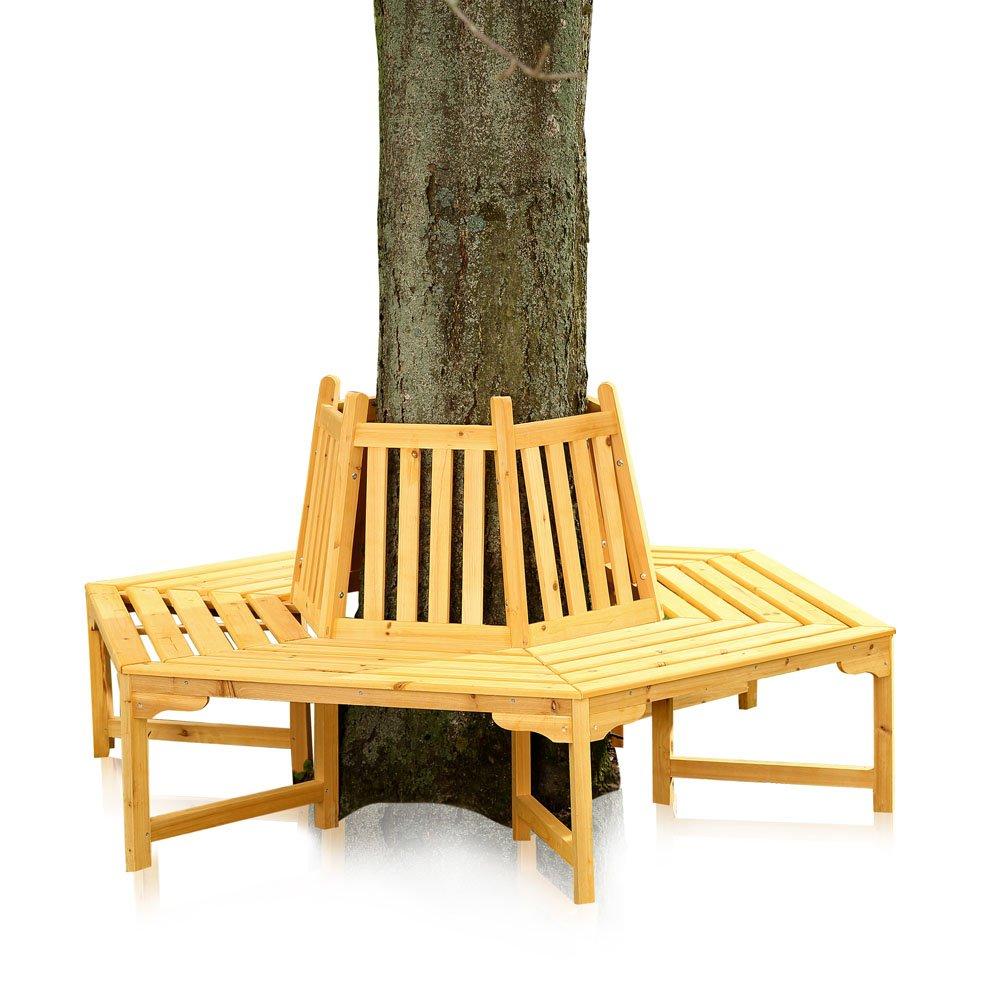 360 Grad Baumbank Gartenbank Rundbank Sitzgruppe Gartenmöbel jetzt kaufen