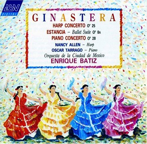 Harp Concerto / Estancia Suite