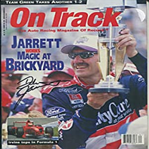 Dale Jarrett Autographed Signed On Track Magazine by Hollywood Collectibles