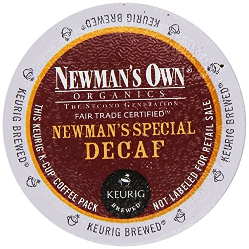 Newman's Own Organics Newman's Special Decaf K-Cup Coffee,72 count (K Cups Coffee Newmans Own compare prices)