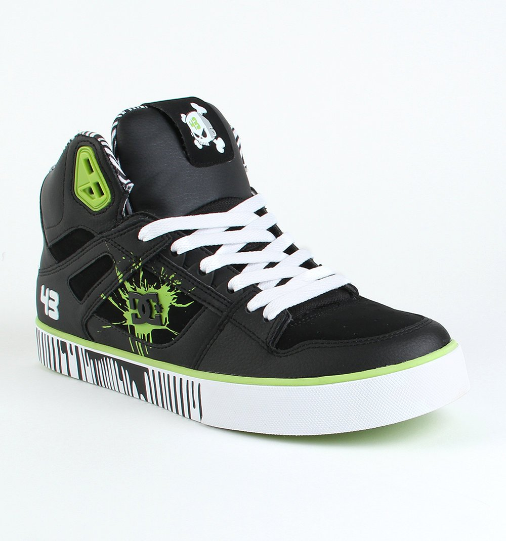 black dc shoes ken block high top 43 shoes sneakers new ebay. Black Bedroom Furniture Sets. Home Design Ideas