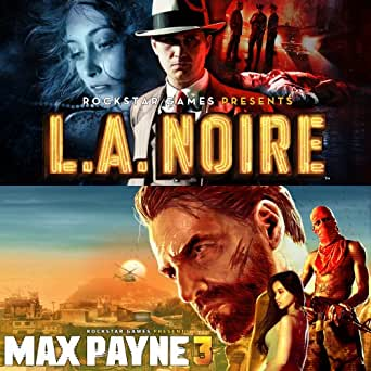 Max Payne 3 Complete and LA Noire Complete bundle [Online Game Code]