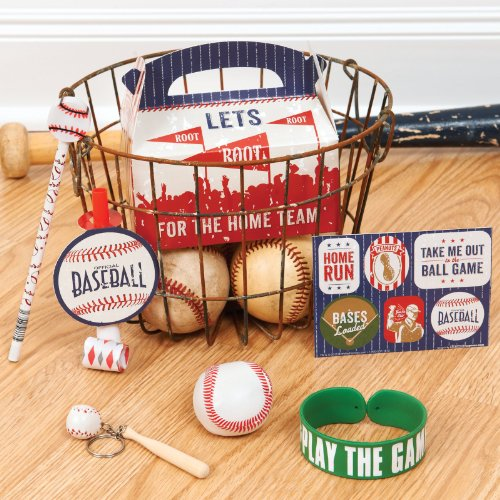 Baseball Time Filled Party Favor Box - 1