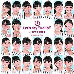 """1 Let\\\'s say """"Hello!"""""""