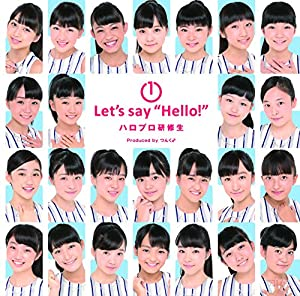 "1 Let\'s say ""Hello!"""