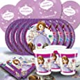 Disney Princess Sofia The First Complete Party Supplies Kit For 16 With Balloons