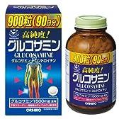 オリヒロ 高純度 グルコサミン・コンドロイチン粒徳用 900粒(90日分)