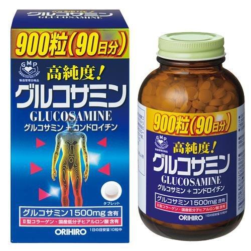 オリヒロ 高純度グルコサミン粒 900粒