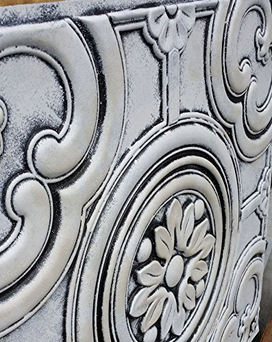 PL50imitation peinture Old 3D plafond carrelage Motif café Pub Shop Art Décoration murale panneaux 10pieces/Lot