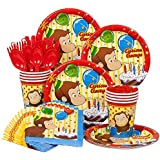 Curious George Birthday Standard Kit Serves 8 Guests