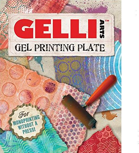 GEL PRINTING PLATE by Gelli Arts  print amazing pictures to show off to your friends, 8x10 inches square [+Peso($36.00 c/100gr)] (US.AZ.24.29-0-B00CLALEJI.110137)