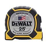 DEWALT DWHT36225S 25FT Tape Measure (Color: Black and Yellow)