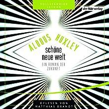 Schöne neue Welt: Ein Roman der Zukunft Hörbuch von Aldous Huxley Gesprochen von: Matthias Brandt