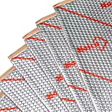Best Price for 50 Sq Ft Noico Self-adhesive Foil & Butyl Mat 50 Mil Automotive Sound Deadening Insulation for Cars & Truck (Audio Dampening & Deadener Installation)