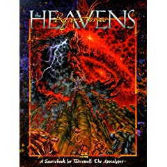 The Rage Across the Heavens (A Sourcebook for Werewolf: The Apocalypse) by Jackie Cassada and Nicky Rea