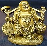 銅製「招財布袋」
