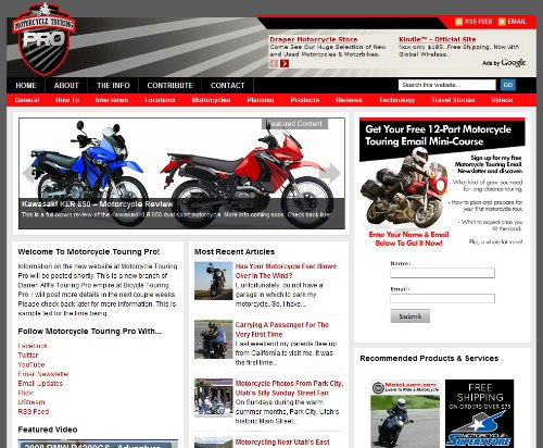 Motorcycle Touring Pro