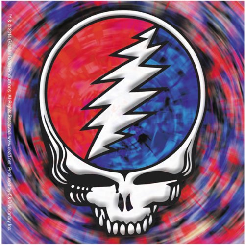 Licenses Products Grateful Dead SYF Spinning Sticker
