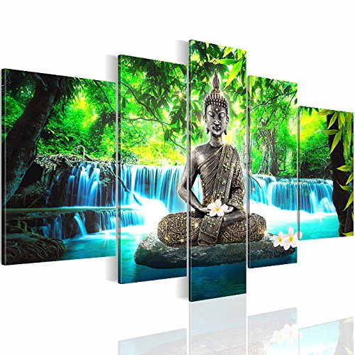 bilder 200x100 cm 5035532b feng shui wandbild 3 farben zur auswahl xxl format fertig. Black Bedroom Furniture Sets. Home Design Ideas