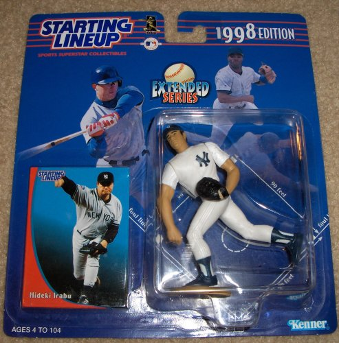 1998 Hideki Irabu MLB Starting Lineup Extended Series Figure