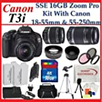 Canon EOS Rebel T3i SLR Digital Camer...