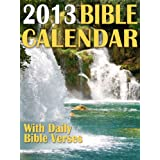 2013 Bible Calendar With Daily Bible Verses ~ Agnes Jelitai
