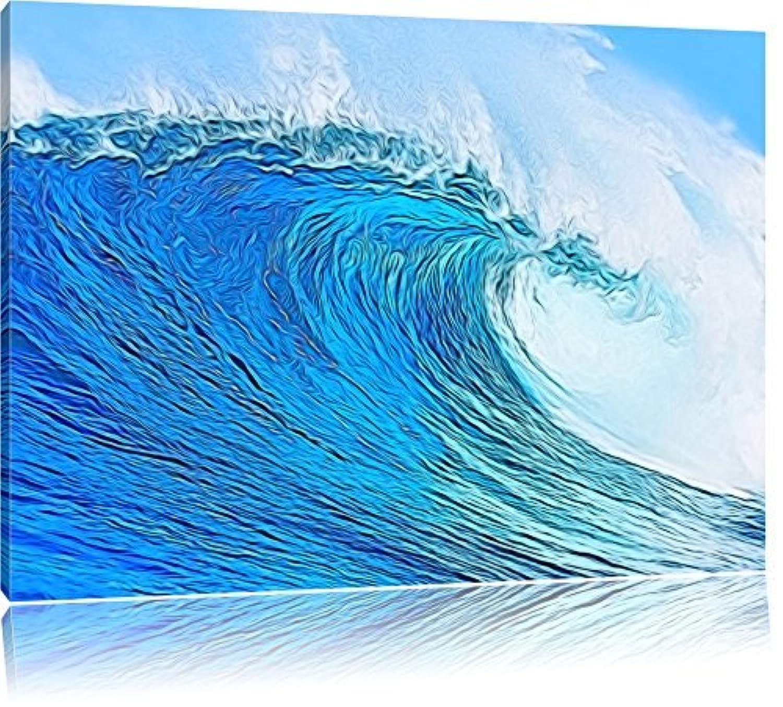 huge wave format 100x70 cm on canvas huge xxl pictures. Black Bedroom Furniture Sets. Home Design Ideas