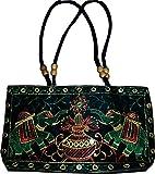 Czds India Women's Black Handbag (BAG-29)