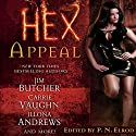 Hex Appeal Audiobook by Jim Butcher, Carrie Vaughn, Ilona Andrews, Simon R. Green, Rachel Caine, Erica Hayes, P. N. Elrod (author/editor) Narrated by Jennifer Van Dyck, Marc Vietor, Gayle Hendrix, Jonathan Davis