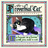 img - for Proverbial Cat 2011 Mini Wall Calendar (Calendar) book / textbook / text book