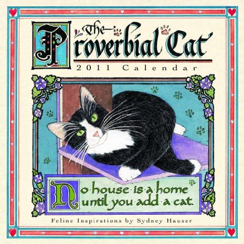 Proverbial Cat  2011 Mini Wall Calendar (Calendar)