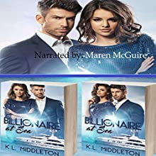Billionaire at Sea: 2-Book Series Audiobook by K. L. Middleton Narrated by Maren McGuire