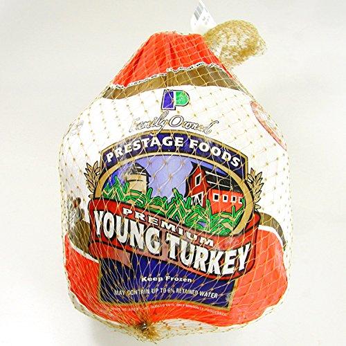 6~8ポンド(約2.7~3.6Kg)ターキー(七面鳥)丸鳥生冷凍USA