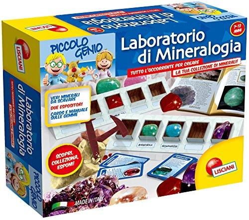 Lisciani 46393 - Piccolo Genio Laboratorio di Mineralogia