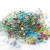 ガラスの粒  ミックスカラー 硝子の雫 レジン UVレジンパーツ 封入 硝子のかけら カレット パウダートレーディング