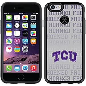 Coveroo CandyShell Case for iPhone 6 - Retail Packaging - Black/TCU Repeating Gray Design