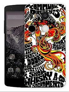 "Humor Gang The Doors Concert Poster ArtPrinted Designer Mobile Back Cover For ""Lg Google Nexus 5X"" (3D, Matte, Premium Quality Snap On Case)..."