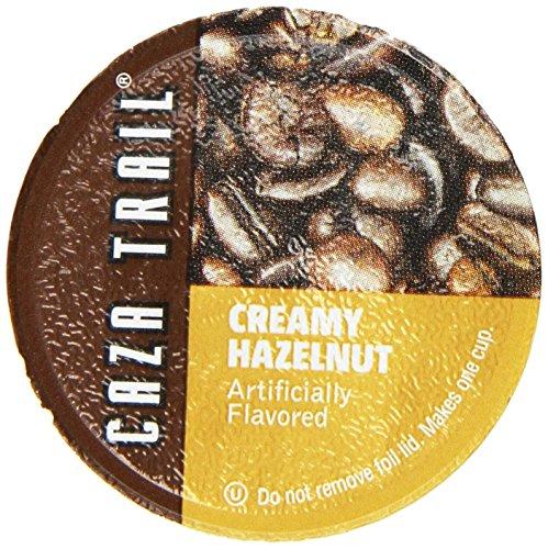 Caza Trail Coffee, Creamy Hazelnut, 50 Single Serve Cups