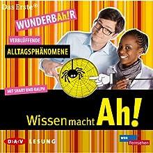Verblüffende Alltagsphänomene (Wissen macht Ah! 3) Audiobook by  div. Narrated by Ralph Caspers, Shary Reeves