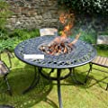 Eaton Fire Pit Table from WWW.GARDENITEMS.CO.UK