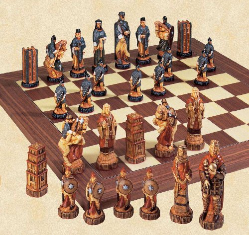 The Battle of Hastings Chess Set