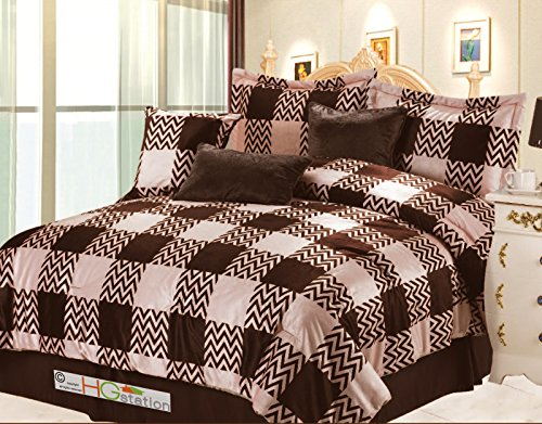 Faux Fur Comforter King front-717342